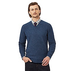 Hammond & Co. by Patrick Grant - Blue wool rich jumper
