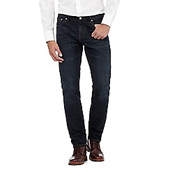 Hammond & Co. by Patrick Grant - Dark blue mid wash slim jeans