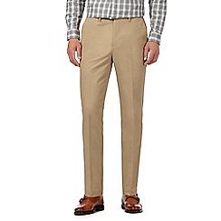Hammond & Co. by Patrick Grant - Beige tailored fit chinos