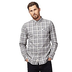Hammond & Co. by Patrick Grant - Big and tall grey check print button-down shirt