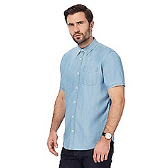 Hammond & Co. by Patrick Grant - Big and tall blue chambray shirt