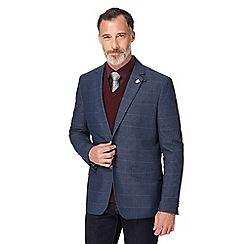 Hammond & Co. by Patrick Grant - Big and tall blue checked blazer