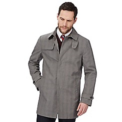 Hammond & Co. by Patrick Grant - Grey 'Dartmoor' checked mac