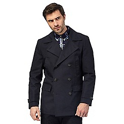 Hammond & Co. by Patrick Grant - Big and tall navy summer peacoat