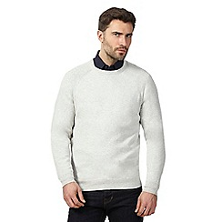 Hammond & Co. by Patrick Grant - Grey crew neck jumper with wool