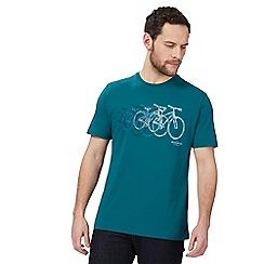 Hammond & Co. by Patrick Grant - Big and tall green bike print t-shirt