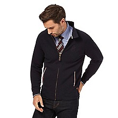 Hammond & Co. by Patrick Grant - Navy falcon zip through jersey
