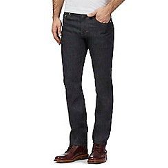 Hammond & Co. by Patrick Grant - Dark blue rinse wash slim fit jeans