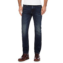 Hammond & Co. by Patrick Grant - Blue dark wash straight leg jeans