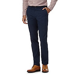 Hammond & Co. by Patrick Grant - Big and tall navy twill chinos
