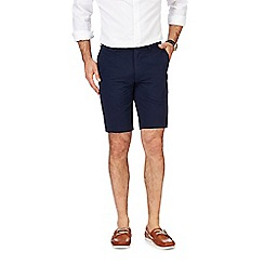 Hammond & Co. by Patrick Grant - Big and tall navy textured shorts