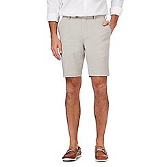 Hammond & Co. by Patrick Grant - Big and tall natural textured shorts
