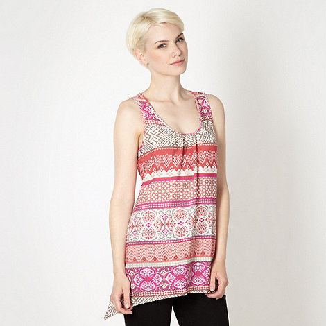 The Collection - Rose bamboo crepe vest