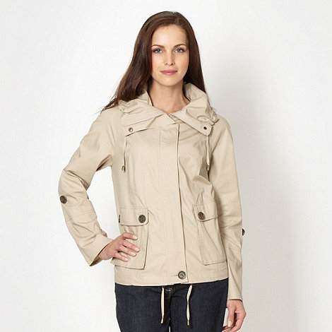 The Collection - Beige short mac jacket