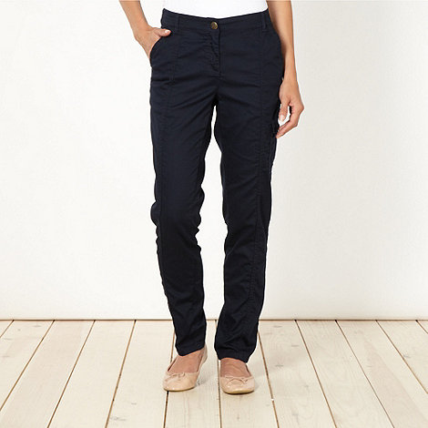The Collection - Navy utility pocket trousers