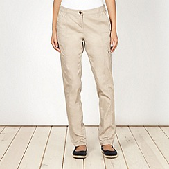 The Collection - Natural utility pocket trousers