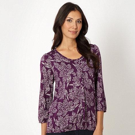 The Collection - Purple broken petal top