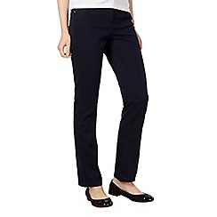 The Collection - Navy soft stretch slim leg jeans