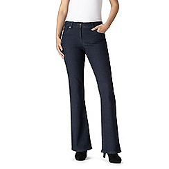 The Collection Petite - Indigo wash bootcut jeans