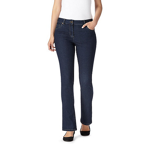 The Collection - Indigo wash slim leg jeans