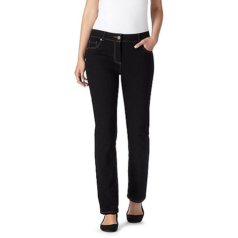 The Collection Petite - Black slim leg jeans