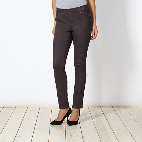 The Collection - Grey twill jeggings