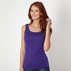 The Collection - Dark purple plain vest