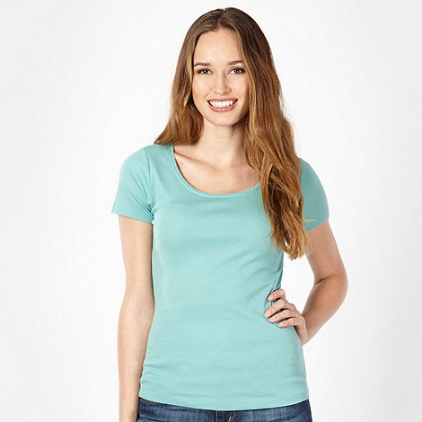 The Collection - Light green scoop neck t-shirt
