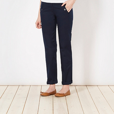 The Collection - Navy chino trousers