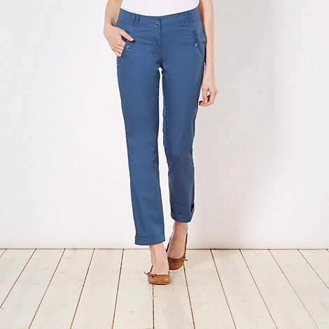 The Collection - Dark blue chino trousers