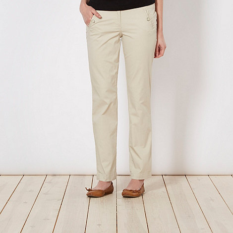 The Collection - Beige chino trousers