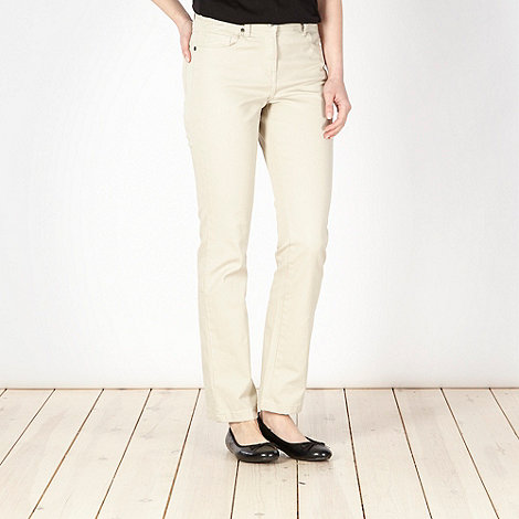 The Collection - Beige slim leg jeans