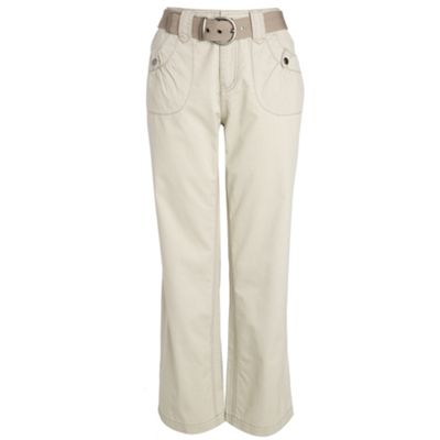 Collection Sand cargo belted trousers product image