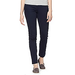 The Collection - Navy slim leg stretch jeans