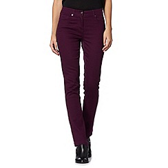 The Collection - Dark purple slim leg jeans