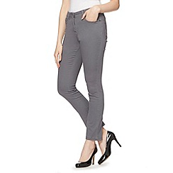 The Collection - Grey slim leg stretch jeans