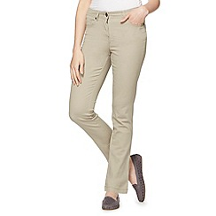 The Collection - Beige slim leg stretch jeans