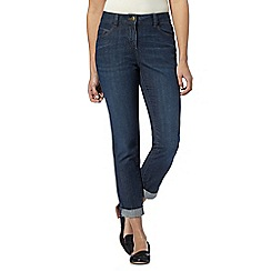The Collection - Dark blue boyfriend fit jeans
