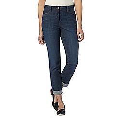 The Collection - Dark blue boyfriend fit jeans