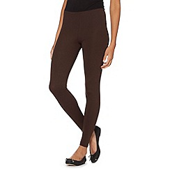 The Collection - Chocolate jersey leggings