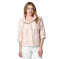 The Collection - Light pink lightweight cotton jacket