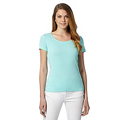 The Collection - Light turquoise short sleeved t-shirt