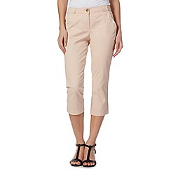 The Collection - Light pink cropped chinos