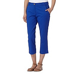 The Collection - Royal blue cropped chinos