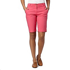The Collection - Pink chino shorts