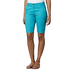 The Collection - Turquoise chino shorts