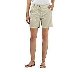 The Collection - Natural chino shorts
