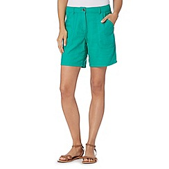 The Collection - Dark green casual shorts