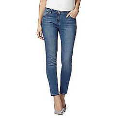 The Collection - Light blue vintage wash slim leg jeans