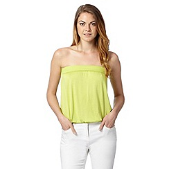 The Collection - Lime bandeau top